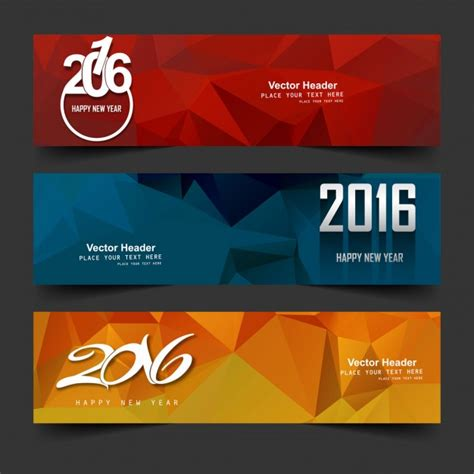 new year 2016 vector free new year 2016 headers vector free