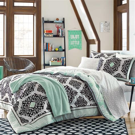 cooper dorm kit in mint from bed bath beyond
