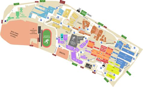layout of dover mall cus map singapore polytechnic