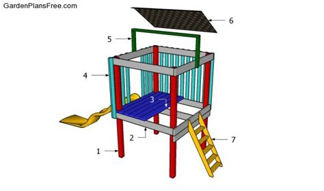 build a backyard fort backyard fort plans free garden plans how to build garden projects