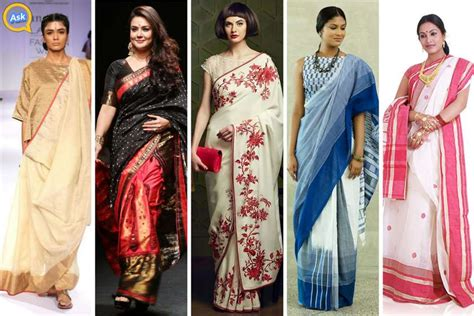 traditional saree draping styles 17 different styles of draping saree in parts of india