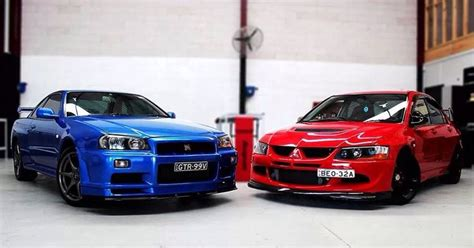 Chappaquiddick Skyline Everyone Else Is Evolving Nissan Skyline Gtr R34 Mitsubishi Lancer Evolution