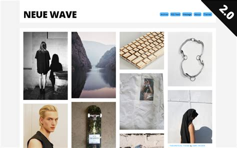 tumblr themes free dolliecrave 45 free grid based tumblr themes inspirationfeed