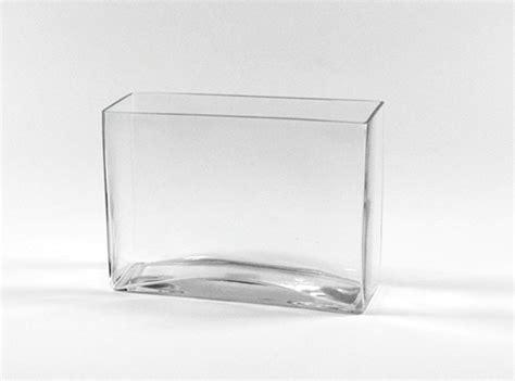 Rectangular Vase by 3 Quot X 10 Quot X 7 Quot Rectangular Glass Vases