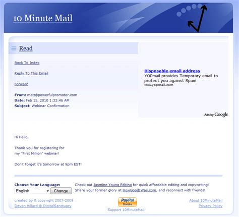 email disposable giving out your email address online without letting