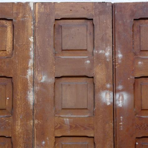 salvaged doors for sale pair of salvaged 1880 s bi fold doors ned100 for