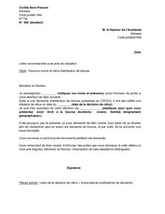 Demande De Rattachement Fiscal Lettre Modele Lettre Inscription Tardive Document