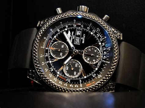 Breitling Black breitling for bentley
