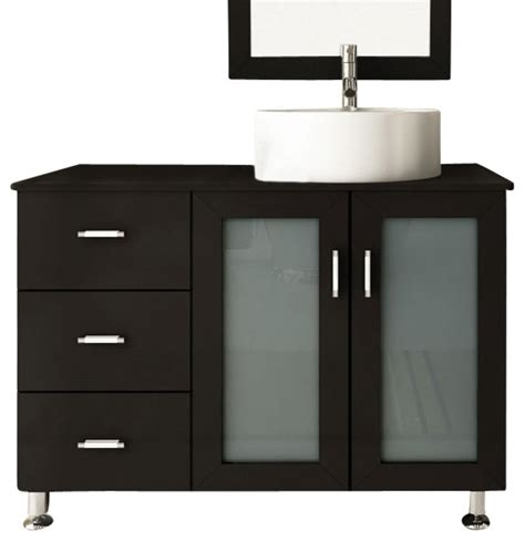 Bathroom Consoles And Vanities 39 Quot Lune Small Single Sink Modern Bathroom Vanity Modern
