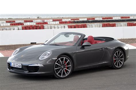 new porsche 911 convertible 2012 porsche 911 cabriolet w video autoblog