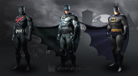Tas Noche Black list of batman skins for arkham city and ways to get it
