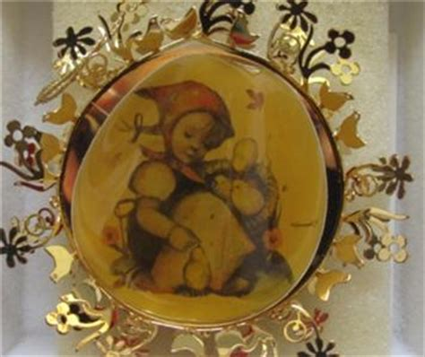 4 hummel gold christmas ornament collection ebay