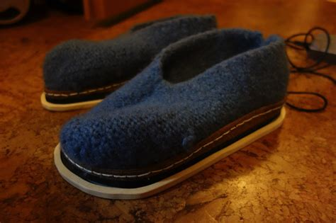 heated house shoes build your own felted inductively heated house shoes