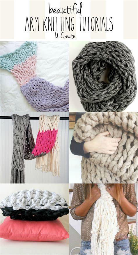 knitting tutorials beautiful arm knitting tutorials u create
