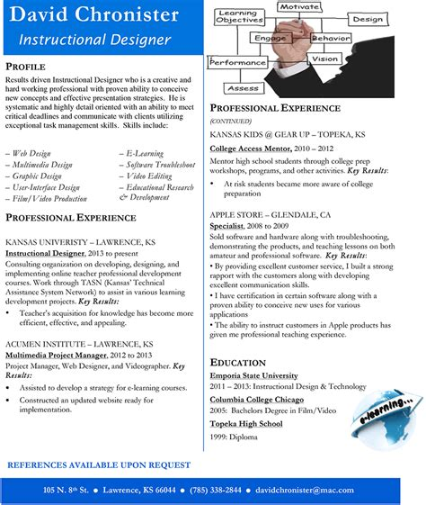 instructional designer resume anuvrat info