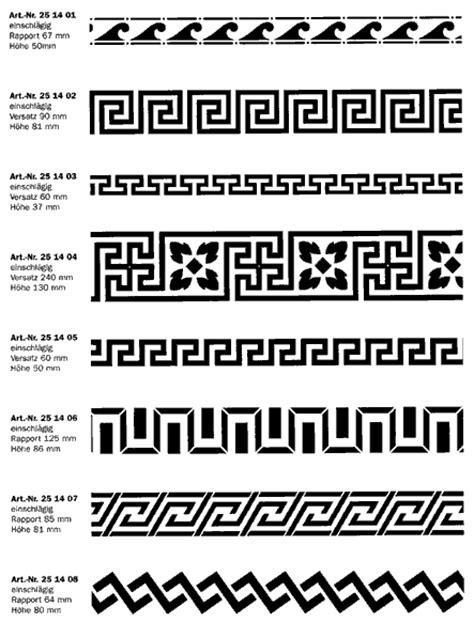 Muster Word Origin Antike Schablonen Bei Kreidezeit