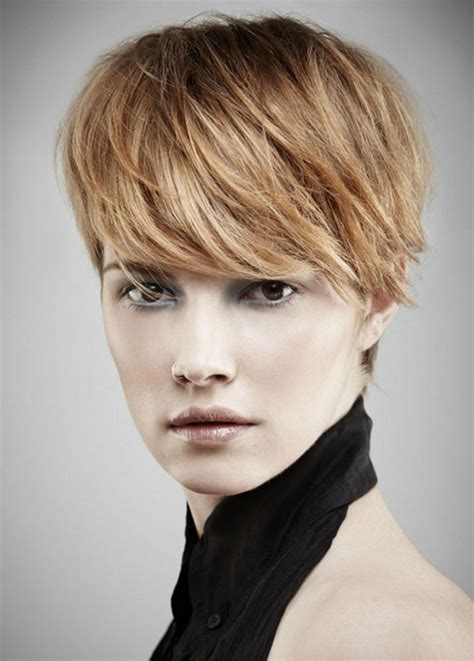 Gamine Haircut Photos | pictures best short haircuts for round faces gamine