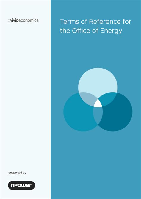 What Is The Term Of Office For The President by Terms Of Reference For The Office Of Energy