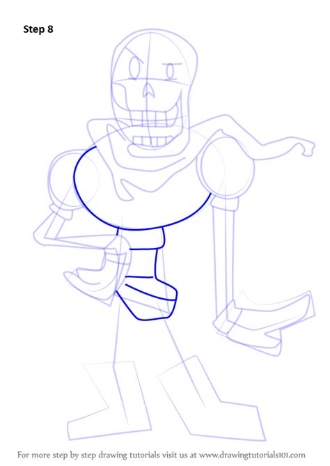 undertale drawing guide books learn how to draw papyrus from undertale undertale step