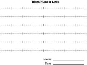 number line template integer line printable pdf search results calendar 2015