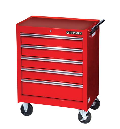 craftsman 11 drawer ball bearing tool chest craftsman 27 quot 5 drawer ball bearing slides roller cabinet red