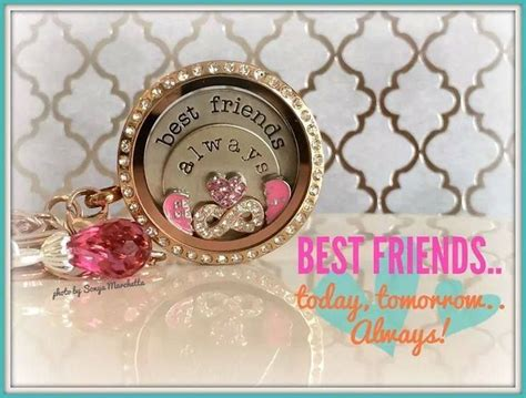 origami owl best friends besties origami owl locket ideas