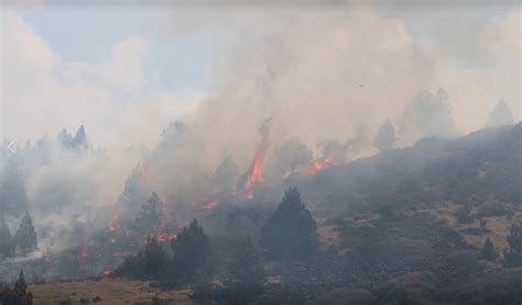 steamboat fire update steamboat fire near montague now 70 percent contained