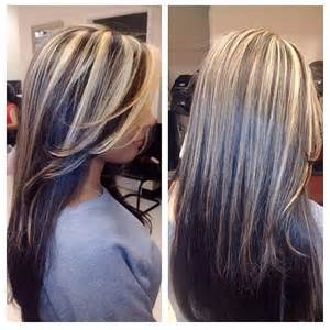 highlights to hide grey in darker hair best 25 gray highlights ideas on pinterest gray hair