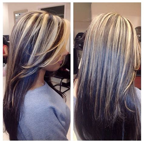 grey highlights in dark hair best 25 gray highlights ideas on pinterest silver