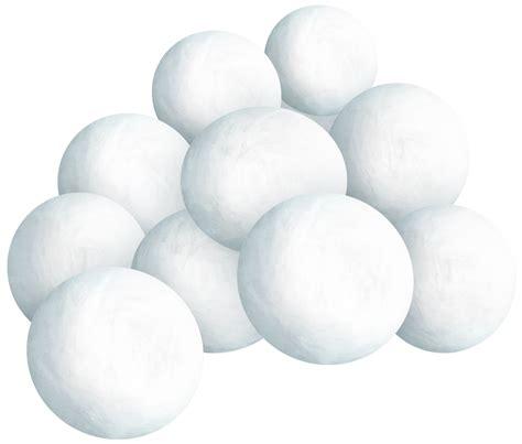 snowball clipart snowballs
