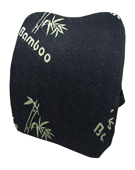 50 lumbar lower back pillow bamboo memory foam