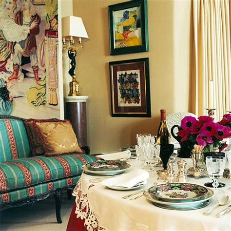 Eclectic Style Dining Room Eclectic Dinning Room Dining Room Furniture Decorating