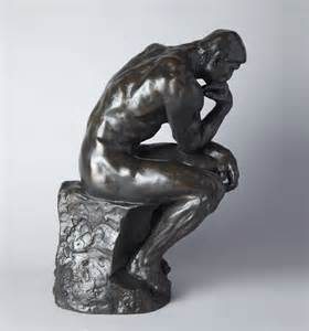 the thinker by auguste rodin official sculpture