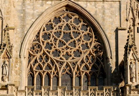 The Of The West Window exeter cathedral west window guide