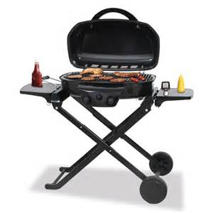 tailgate lp gas barbecue grill with folding cart br