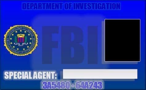 fbi card template 11 images of fbi badge template print diygreat