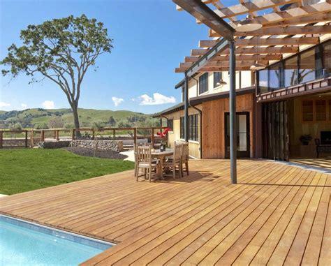 pavimento legno giardino parquet garapa legno per esterni decking massello prefinito