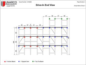 warehouse racking layout software pallet rack calculate pallet rack capacity