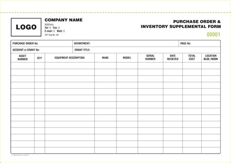 science department budget template excel receipts purchase orders stock inventory forms from 163 60 free inventory form