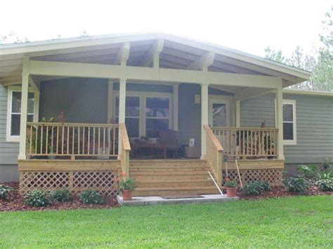 covered front porch plans 2018 45 great manufactured home porch designs mobile home living