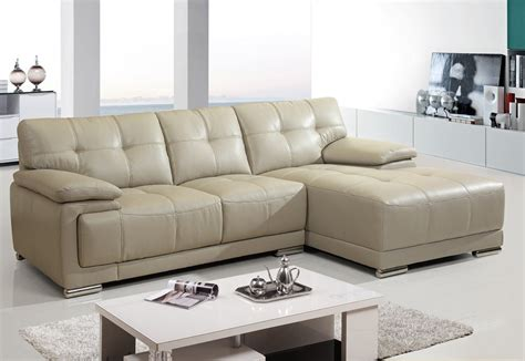 Leather Sofa Beige Beige Leather Sofa Loccie Better Homes Gardens Ideas