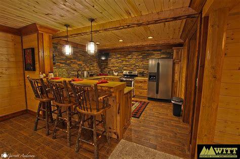 log cabin kitchens basement log cabin kitchen log cabin