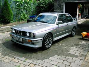 1988 Bmw M3 Silver With Tricolor Pin Stripes 1988 Bmw M3 German Cars