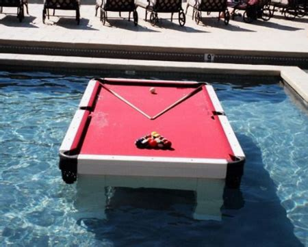 Water Pool Table by 15 Cool Pool Tables You Will