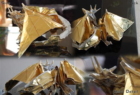 Ancient Origami - satoshi kamiya ancient by icosadragon on deviantart