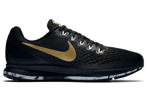 Nike Zoom Vegasus Size 39 43 Sepatu Pria Olahraga Sport Lari Hitam nike air zoom pegasus 34 medal pack black gold alltricks