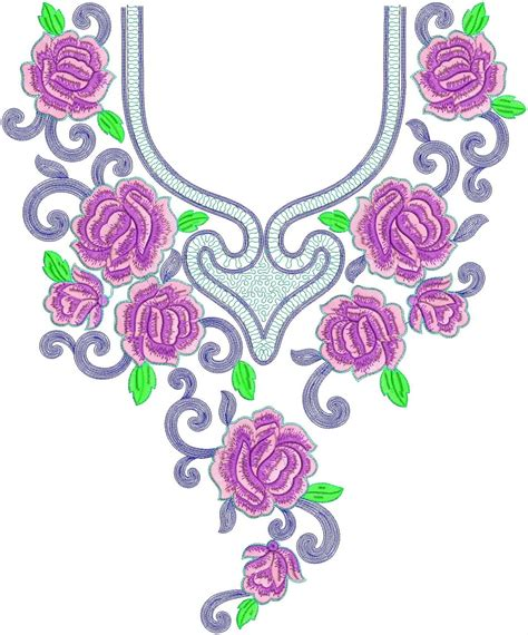 embroidery design video embroidery neck design