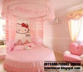 Hello kitty girls bedroom themes and style for modern girls room pink
