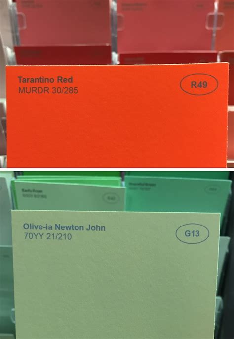 punny color name man comes up with funny new names for paint colors at a