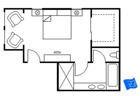 Double Master Bedroom Floor Plans by Master Bedroom Floor Plans